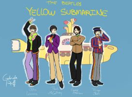 The Beatles-Yellow Submarine by Coffee-Coke