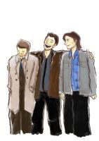 Winchester Brothers by IdaRahayu
