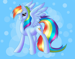 Rainbow Dash Bitchez by Rather-Be-Raving