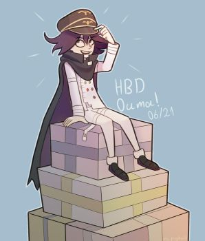 Happy Birthday Ouma! by Miss-Ponytails