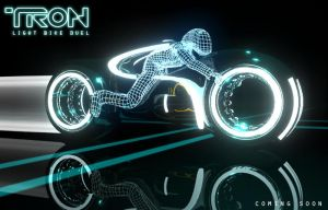 Tron Legacy Light Cycle by paulelder