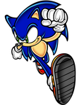 sonic run more by megax88