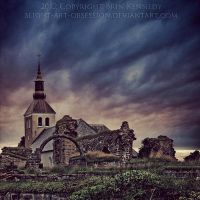 Gudhem Abbey by slight-art-obsession