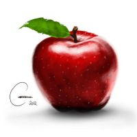 An apple a day will keep the doctor away by ArtWarrior25