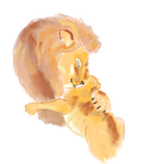 Lion and son1 by AVasquezArt