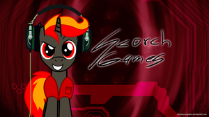 Scorch Games - Wallpaper Commission by Sparxyz