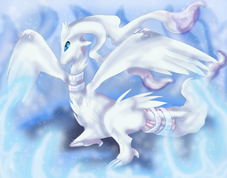 Reshiram by Cinnamon-Quails