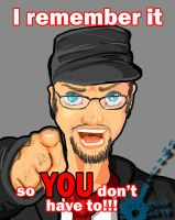 Nostalgia Critic by BombOPAUL
