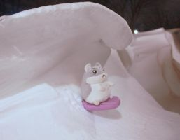 Angry Snow Surfing Hampster by shiroboi