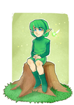 Saria by xFennek