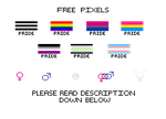 Free Pixels: Pride Batch by SteamRunnerStudios