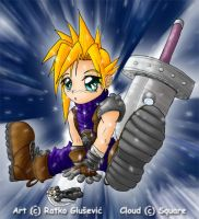 Ultimate chibi Cloud  XD by Shintei-chan