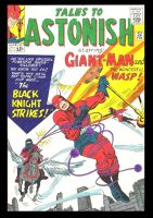 TALES TO ASTONISH 52 COVER RECREATION by rikvanniedek
