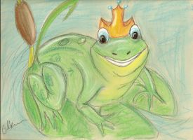 The Frog Prince by Pippi929
