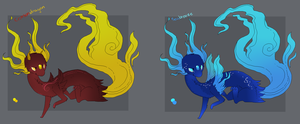 RARE Aethling Adopts by TheseWeirdFishes