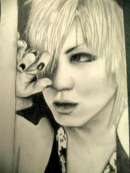 Ruki drawing by Nyroko