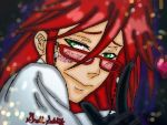 Grell flirty by kaitlynrager