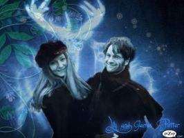 James and Lily Potter Patronus by Slyffinclawpuff