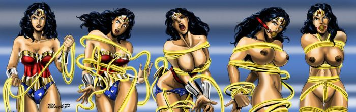 The evolution of Wonder Woman by BlackProf