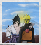 Naruto 307: Naruto and Sasuke Reunion by Bth-Portugal