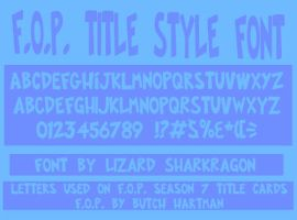 FOP Title Style Font by TheSharkMaster