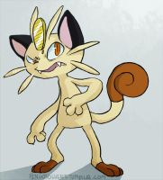 meowth commission by pengosolvent