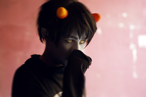 Homestuck: Grumpy sad child by Akai-Ritsuka