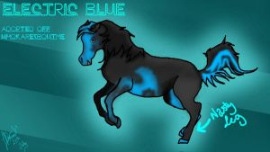 Electric Blue :Adopt: by NoodleSuperPot