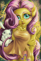 My Fluttershy by HeirOfGlee