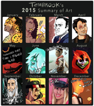2015 Summary of Art by TemBrook