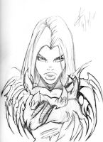 Witchblade 1 by Theamat