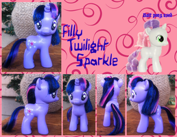 Filly Twilight Sparkle Custom by phasingirl