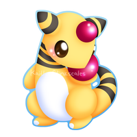Ampharos v2 by Clinkorz
