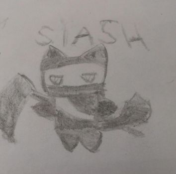 Ninjcats- Slash by trunkschan910