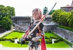 Lightning Farron: Never give up by MadnessGottaBody