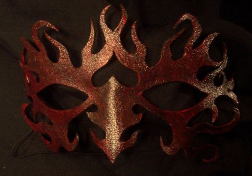 Tribal Flame Mask by TormentedArtifacts