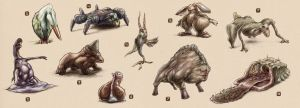 Creature Concepts Collection I by Uzi-Muzi