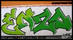ENZO graffiti by DihtagZ