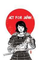 Act for Japan (2011) by AzamRaharjo