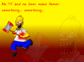 Homicide homer wallpaper by GaussianCat