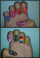 Nails Queer As Folk by RuthNails