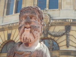 A statue outside the Grand Library. D: xD by KittyKattyMousey