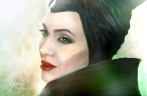 Maleficent by cylonka