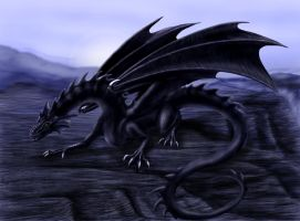 Dragon of Black Canyon by Reptilia-7