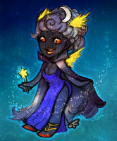 Princess of the Night by cerena