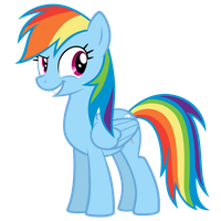 Rainbow Dash - You Don't Say by MrLolcats17