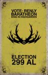 Election 299 AL: Renly Baratheon by Izaach