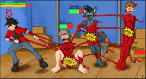 YCH Auction - Mummification Combo Attack (done!) by KurtType5