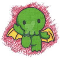 Hello Cthulhu by 0Necromancer0