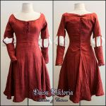 Lady Clare Short Gown by DaisyViktoria